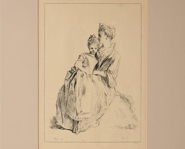 Stampe Antiche Sacre e Maternità
