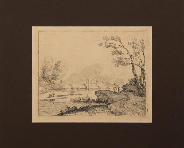 Stampe Antiche Paesaggio