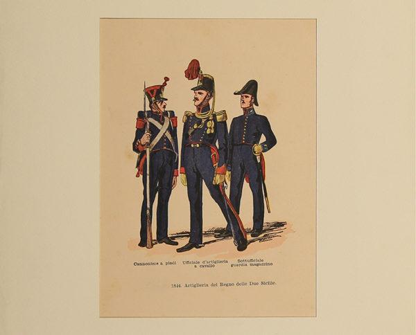 Stampe Antiche Militari