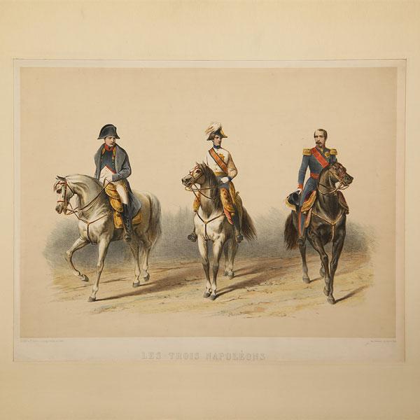 Stampe antiche Militari e Napoleoniche
