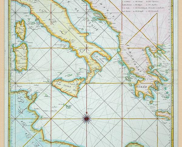 Carta Nautica Italia