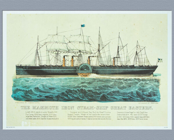 The Mammoth Iron Steam Ship Great Eastern