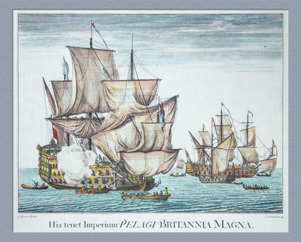 Marine, His tenet Imperium Pelagi Britannia Magna
